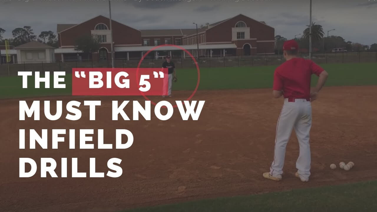Big 5 Must Know Infield Drills Bloordale Baseball League